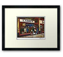 Larry's Framed Print