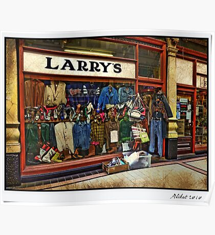 Larry's Poster