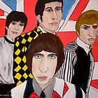The Who in the 60's (2) by dianecarsey