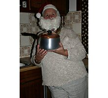 Belongings - the Saucepan and the bearded lady.  Photographic Print