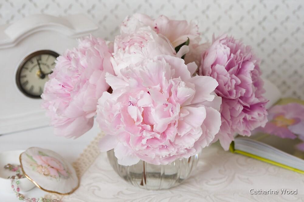 Pink Peonies by Catherine Wood