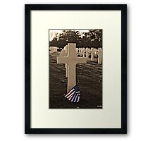 Known But To God Framed Print