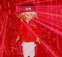 Shirely Temple Doll In The Spotlight by Linda Miller Gesualdo