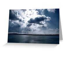 Fluffy things we call clouds! Greeting Card
