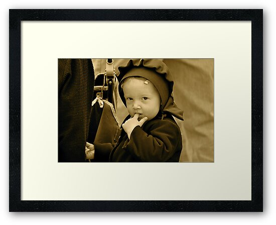 Little Amish Girl by Monte Morton