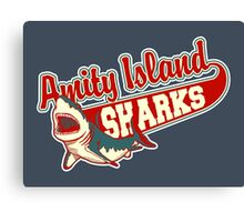 Sharks and Recreation Canvas Print