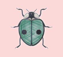 LadyBug - Green Emeraude One Piece - Long Sleeve