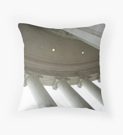 Ionic  Order Throw Pillow