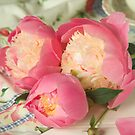 Peony Bowl of Beauty by Catherine Wood