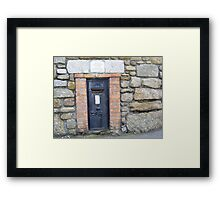 Postbox. Framed Print