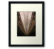The Galeries Royales Saint-Hubert Framed Print