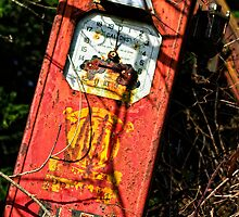 the last drop, abandoned petrol pump, Saltmills, County Wexford, Ireland by Andrew Jones