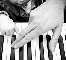 Piano Master and Pupil by novopics