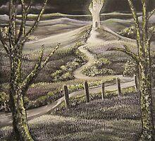 'Fantasy by moonlight' by Susie Hawkins