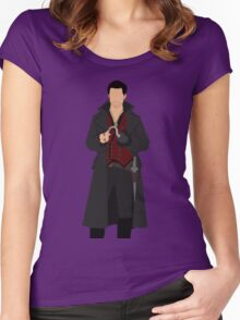 Captain Hook Women's Fitted Scoop T-Shirt
