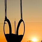 Swing at sunrise - Ready for the day. by Qnita