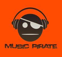 Music Pirate Dark Edition Kids Clothes