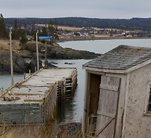 Scott's Bay Wharf by Scott Ruhs