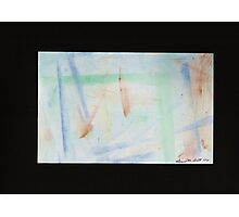 A Mineral backdrop of Abstract Results Photographic Print