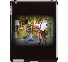 Steampunk Man iPad Case/Skin