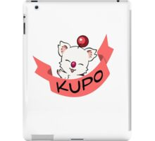 Moogle Final Fantasy iPad Case/Skin