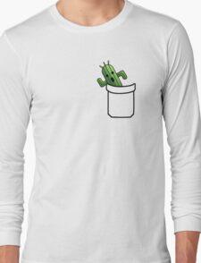 pocket cactuar final fantasy Long Sleeve T-Shirt