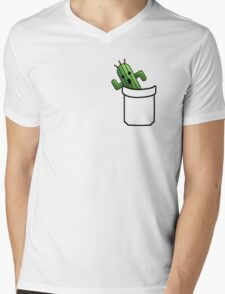 pocket cactuar final fantasy Mens V-Neck T-Shirt