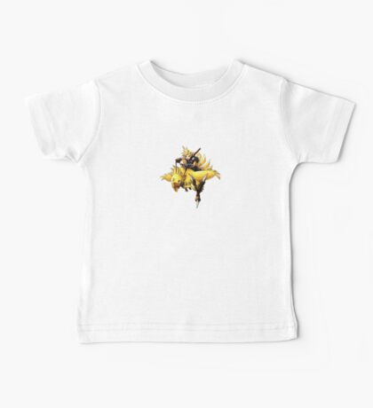 Cloud rides a chocobo !! Baby Tee
