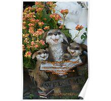 Banner Challenge; Garden Sculptures & Ornaments; Lei Hedger Photography Poster