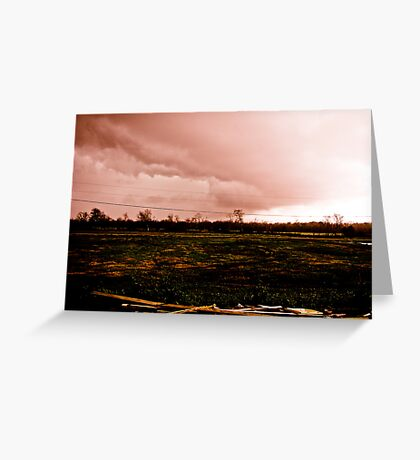 Coming of the Storm Greeting Card