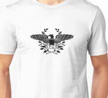 S.P.Q.R. black eagle Unisex T-Shirt