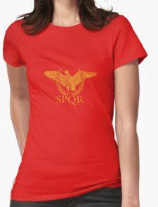 Senatus Populusque Romanus The Senate and People of Rome Womens Fitted T-Shirt