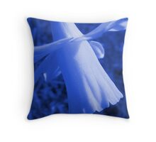 Unlikely Blue #2 Throw Pillow