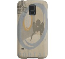 Portal Game Poster Samsung Galaxy Case/Skin