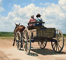 Getting around in South Mississippi, July, 1936 by jenoscolor