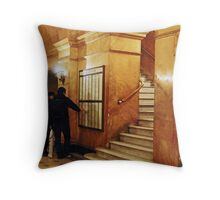 Golden Arches Redux Throw Pillow