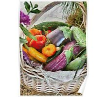 Farm - Fresh Vegetables Poster