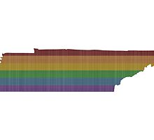 Tennessee Rainbow Gay Pride by surgedesigns