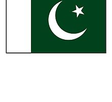 Pakistan, Pakistani, Pakistani Flag, Flag of Pakistan, Islam, Pure & simple by TOM HILL - Designer