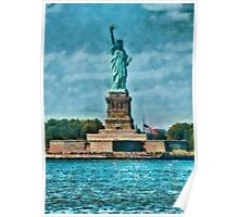 NY - The Statue of Liberty Poster