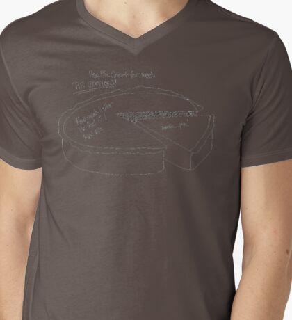 Pie Chart  Mens V-Neck T-Shirt