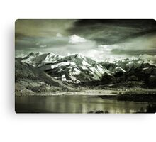 Looking Over Zeller See Canvas Print