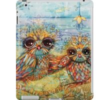 little owl iPad Case/Skin