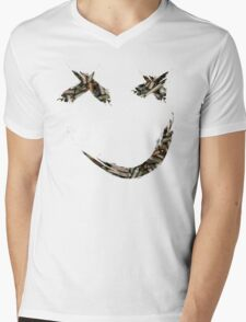 All Smiles Bullets Mens V-Neck T-Shirt