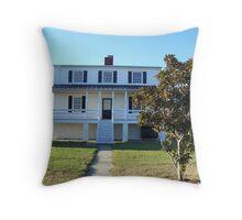 Lighthouse Keeper House Throw Pillow