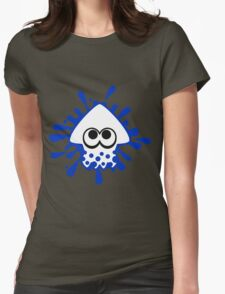 INKLING SQUID - BLUE Womens Fitted T-Shirt