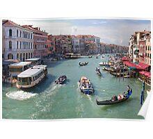 Canale Grande, Venezia Poster