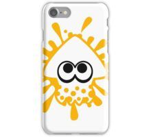 INKLING SQUID - YELLOW iPhone Case/Skin