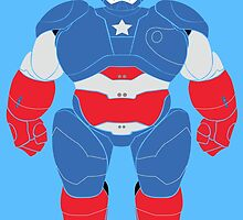 Baymax Suit (Captain America) by Woody2015