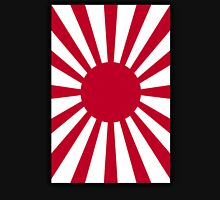 Japanese War flag, Imperial Japanese Army, WWII, WAR, Japan, Nippon, Portrait on Black T-Shirt